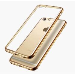 iPhone X - Exklusivt Praktiskt Silikonskal Från HUTECH Roséguld