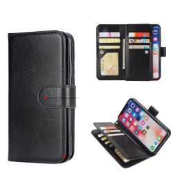 ROYBEN´S Plånboksfodral för iPhone XR (Dubbelfunktion) Svart
