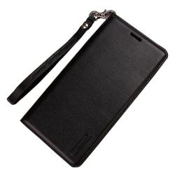 iPhone XR - Stilrent Läderfodral med Plånbok (T-Casual) Svart