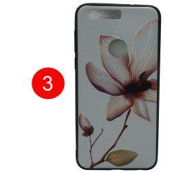 LEMAN Skal med Blom-motiv för Huawei Honor 8 3