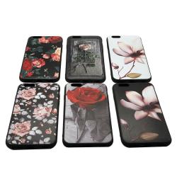 LEMAN Skal med Blom-motiv för iPhone 6/6S Plus 5