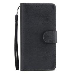 LEMAN Stilrent Plånboksfodral - Samsung Galaxy S8 Svart