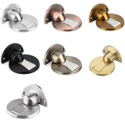 Magnetiskt Effektfull Dörrstopp Brons Guld