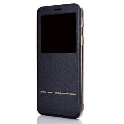 Huawei Mate 20 Lite Smartfodral med fönster Svart