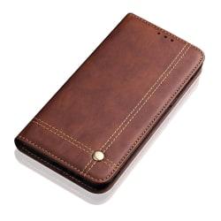 Stilsäkert Fodral med Plånbok för Huawei Mate 20 Pro Mörkbrun