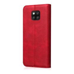 Huawei Mate 20 Pro - Slittåligt Fodral Röd