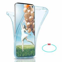 Stötdämpande Smidigt Dubbelskal Silikon - Samsung Galaxy Note10 Transparent/Genomskinlig