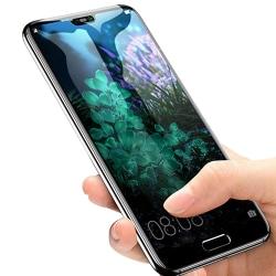 ProGuard | Huawei P20 | Skärmskydd | 2.5D | med Ram | HD-Clear Svart