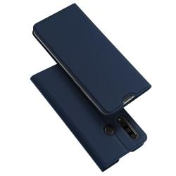 Huawei P30 Lite - Stilsäkert Dux Ducis Plånboksfodral Blå