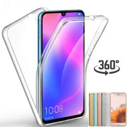 Stilrent Skyddskal Heltäckande Silikon - Huawei P30 Transparent/Genomskinlig