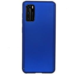 Effektfullt Dubbelskal (Floveme) - Huawei P40 Lila