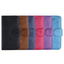 Plånboksfodral med Skalfunktion för iPhone 5/5S/SE Marinblå