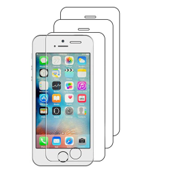 ProGuard iPhone 5/5S/5SE Skärmskydd 3-PACK Standard 9H HD-Clear
