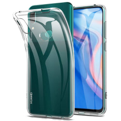 Huawei P Smart Z - Kraftfullt Stöttåligt Silikonskal Transparent/Genomskinlig