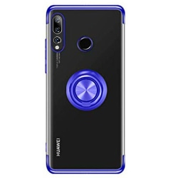 Huawei P Smart Z - Skal med Ringhållare Roséguld