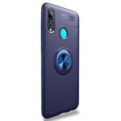 Genomtänkt Skal med Ringhållare - Huawei P Smart Z Svart