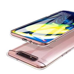 Robust Skyddsskal i Silikon - Samsung Galaxy A80 Transparent/Genomskinlig