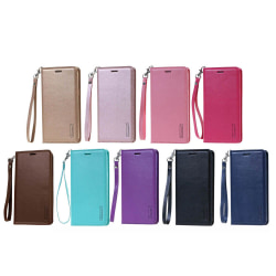 Effektfullt Plånboksfodral (HANMAN) - Samsung Galaxy S20 Roséguld