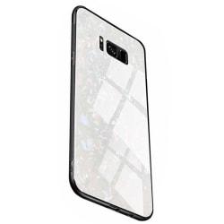 Samsung Galaxy S8+ - Stilsäkert Smidigt Skal i Marmor Design Svart