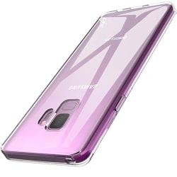 Stötdämpande Silikonskal - Samsung Galaxy S9 Transparent/Genomskinlig