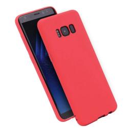 Stilrent Matt Silikonskal för Samsung Galaxy S6 (LEMAN) Röd
