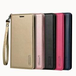 Samsung Galaxy Note 9 - Plånboksfodral i PU-Läder av Hanman Roséguld