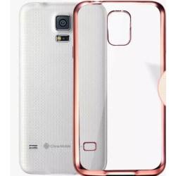 Samsung Galaxy S5 - Praktiskt Silikonskal från LEMAN Guld