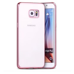 Samsung Galaxy S6 - Stilrent Silikonskal från LEMAN Roséguld