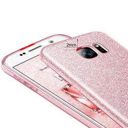Effektfullt Skal från Snowflake - Samsung Galaxy S7 Edge Silver