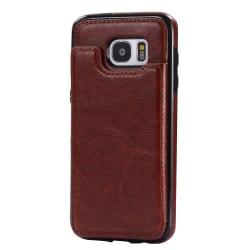 Stilsäkert Plånboksskal (M-Safe) för Samsung Galaxy S7 Edge Vit