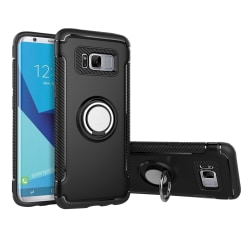 Smart Hybridskal med Hållarfunktion till Samsung Galaxy S8 Grå