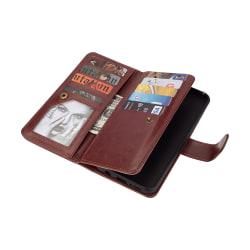 Plånboksfodral med Skal till Samsung Galaxy S9+ Brun