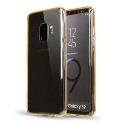 Silikonfodral med Touchsensor (Fram och Bak) Samsung Galaxy S9 Transparent/Genomskinlig