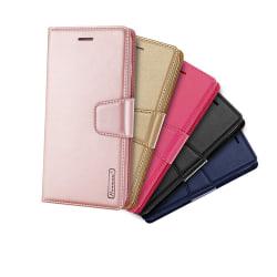 Samsung Galaxy S9+ - Plånboksfodral i PU-Läder från Hanman Svart