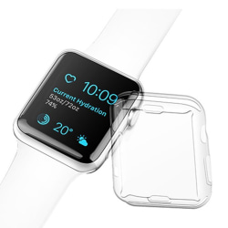 Apple Watch Series 1/2/3 42mm - Effektfullt Skyddsskal Transparent/Genomskinlig