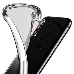 Silikonskal - Samsung Galaxy A40 Transparent/Genomskinlig