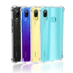Skyddande Silikonskal (FLOVEME) - Huawei P Smart 2019 Transparent/Genomskinlig