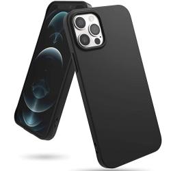 Skyddande Silikonskal - iPhone 12 Pro Max Svart