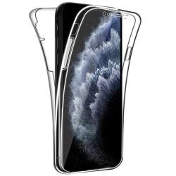 Skyddande Smidigt Dubbelsidigt Skal - iPhone 12 Pro Max Transparent/Genomskinlig