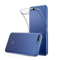 Smart Skyddande Skal i Silikon - Huawei Y6 2018 Transparent/Genomskinlig