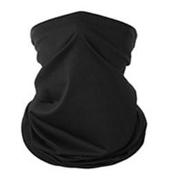 Stilren Bekväm Halsduk, Ansiktsmask, Pannband Svart
