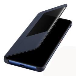 Stilrent Fodral med Smart-View för Huawei Mate 20 Pro Brun
