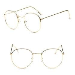 Stilsäkra Bekväma Läsglasögon / Glasögon Guld +4.0