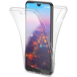Stötdämpande Dubbelskal (North) - Huawei Y5 2019 Transparent/Genomskinlig