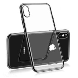 Stötdämpande Silikonskal till iPhone XR Grå