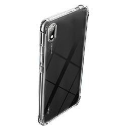 Stöttåligt Silikonskal Floveme - Huawei Y5 2019 Transparent/Genomskinlig