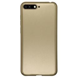 Exklusivt Floveme Dubbelsidigt Skal - Huawei Y6 2018 Guld