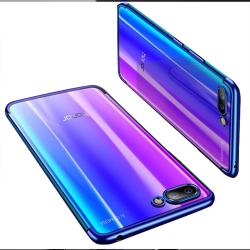 Huawei Y6 2018 - Elegant Skyddsskal i Silikon Blå