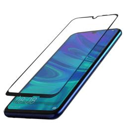 Huawei Y6 2019 Skärmskydd 2.5D med Ram HD-Clear ProGuard Svart