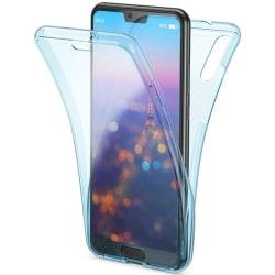 Dubbelsidigt Silikonskal - Huawei Y6 2019 Blå